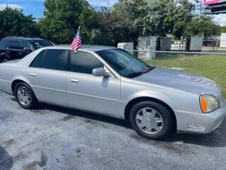 2003 Cadillac DeVille for sale at Turnpike Motors in Pompano Beach FL