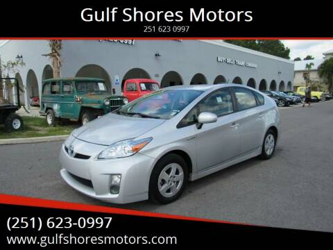 2010 Toyota Prius for sale at Gulf Shores Motors in Gulf Shores AL