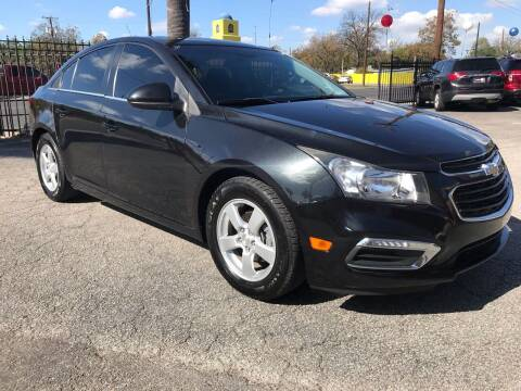 2015 Chevrolet Cruze for sale at Auto A to Z / General McMullen in San Antonio TX