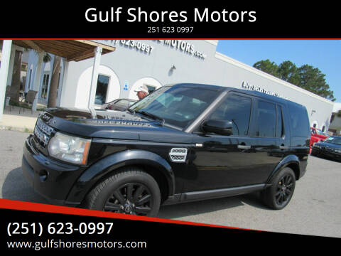 2012 Land Rover LR4 for sale at Gulf Shores Motors in Gulf Shores AL