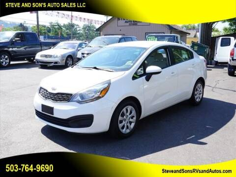 2012 Kia Rio for sale at Steve & Sons Auto Sales in Happy Valley OR