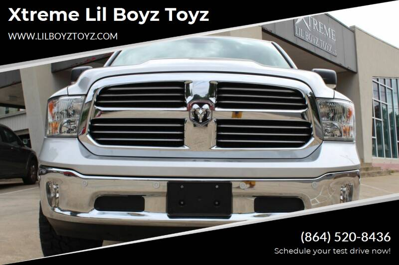 2018 RAM Ram Pickup 1500 for sale at Xtreme Lil Boyz Toyz in Greenville SC
