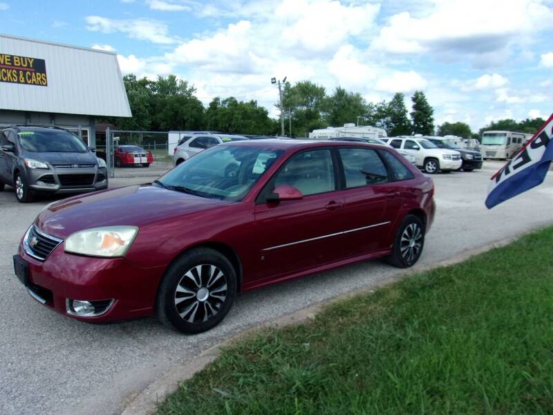 2007 Chevrolet Malibu Maxx for sale at HIGHWAY 42 CARS BOATS & MORE in Kaiser MO