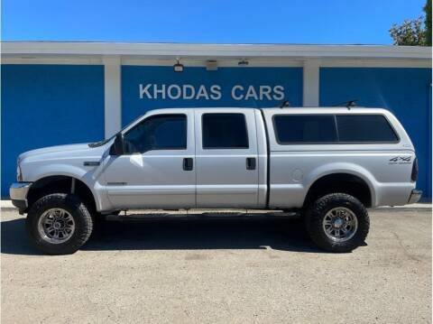 2002 Ford F-250 Super Duty for sale at Khodas Cars in Gilroy CA