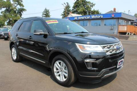 2018 Ford Explorer for sale at All American Motors in Tacoma WA