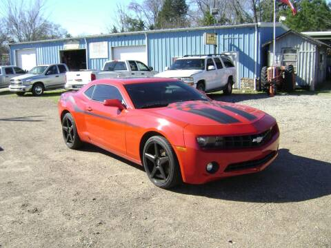 2010 Chevrolet Camaro for sale at Tom Boyd Motors in Texarkana TX
