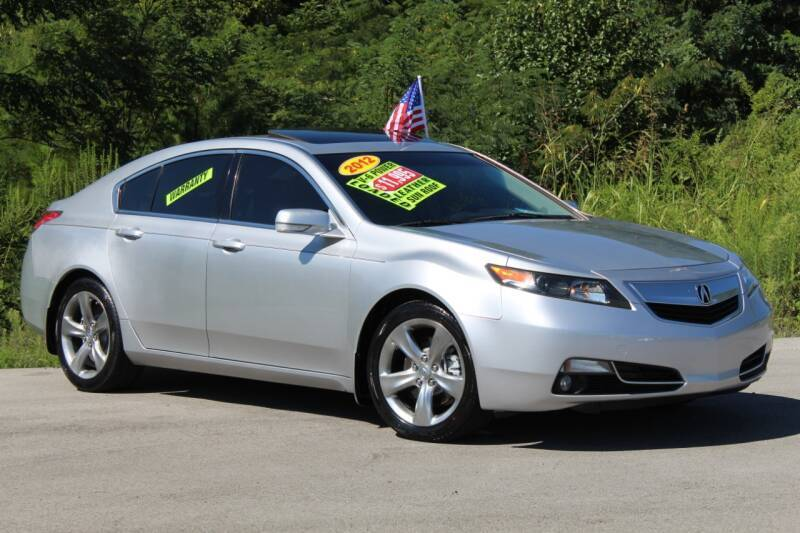 2012 Acura TL for sale at McMinn Motors Inc in Athens TN