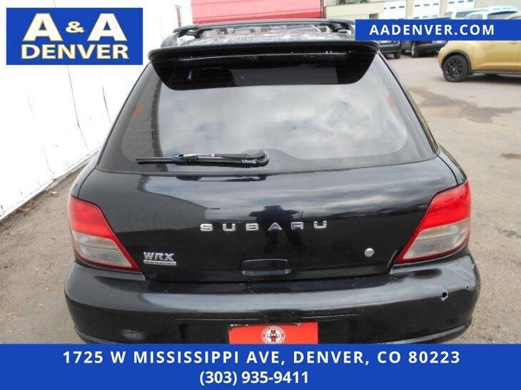 2002 Subaru Impreza AWD WRX 4dr Turbo Wagon - Denver CO