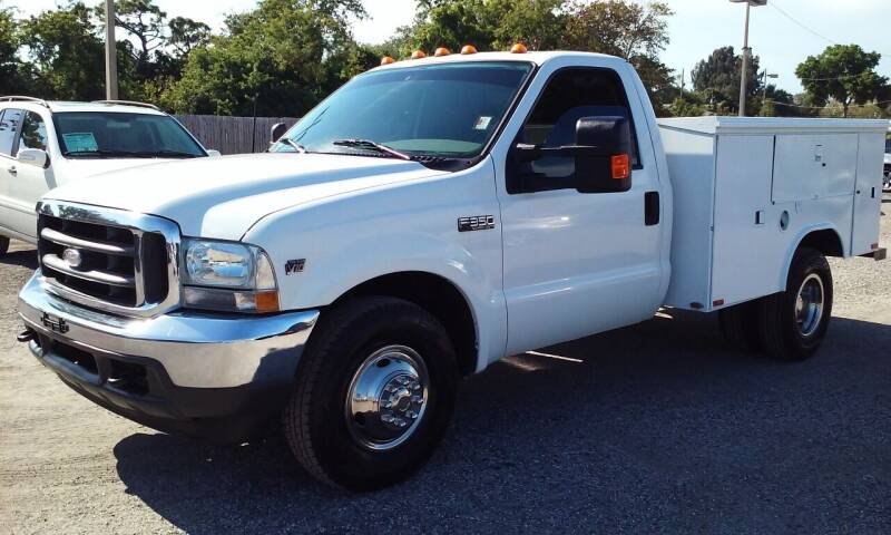 2000 Ford F-350 Super Duty for sale at Pinellas Auto Brokers in Saint Petersburg FL