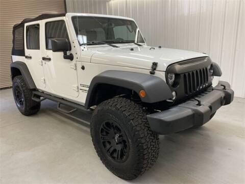 2017 Jeep Wrangler Unlimited for sale at JOE BULLARD USED CARS in Mobile AL