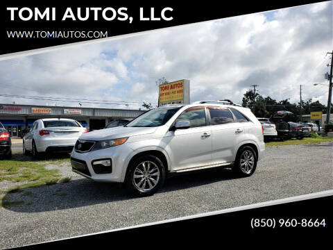 2012 Kia Sorento for sale at TOMI AUTOS, LLC in Panama City FL