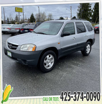 2001 Mazda Tribute for sale at Corn Motors in Everett WA