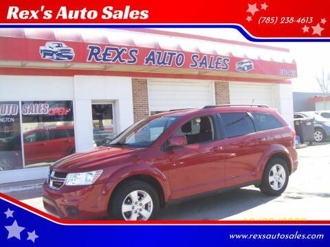 2012 Dodge Journey for sale at Rex's Auto Sales in Junction City KS