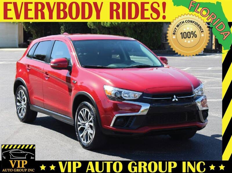 2019 Mitsubishi Outlander Sport for sale at VIP Auto Group in Clearwater FL