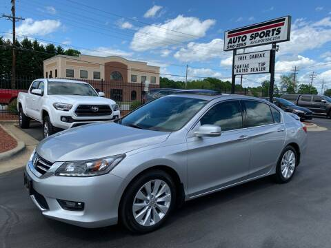 2015 Honda Accord for sale at Auto Sports in Hickory NC