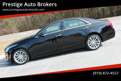2014 Cadillac CTS for sale at Prestige Auto Brokers in Raleigh NC