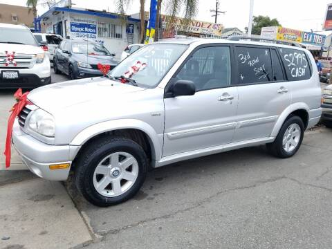2002 Suzuki XL7 for sale at Olympic Motors in Los Angeles CA