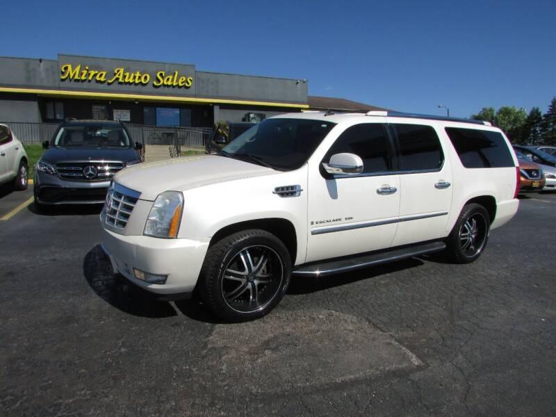 2009 Cadillac Escalade ESV for sale at MIRA AUTO SALES in Cincinnati OH