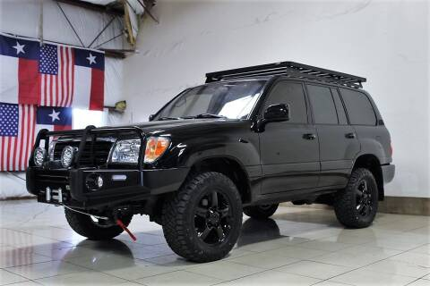 2003 Toyota Land Cruiser for sale at ROADSTERS AUTO in Houston TX