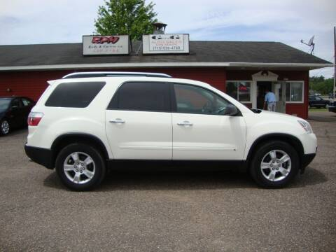 2009 GMC Acadia for sale at G and G AUTO SALES in Merrill WI