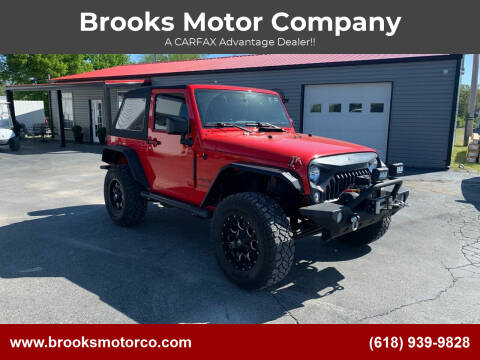 2016 Jeep Wrangler for sale at Brooks Motor Company in Columbia IL