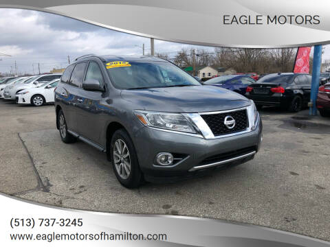 2015 Nissan Pathfinder for sale at Eagle Motors in Hamilton OH