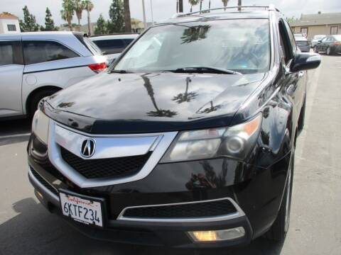 2010 Acura MDX for sale at F & A Car Sales Inc in Ontario CA
