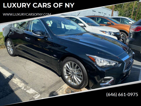 2019 Infiniti Q50 for sale at LUXURY CARS OF NY in Queens NY