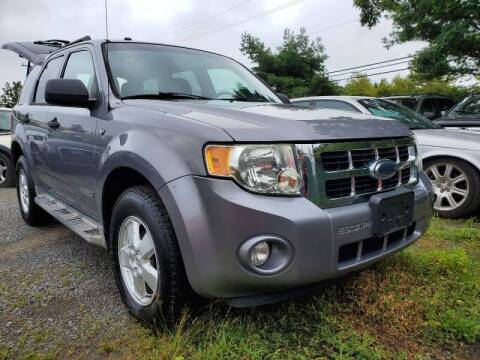 2008 Ford Escape for sale at M & M Auto Brokers in Chantilly VA