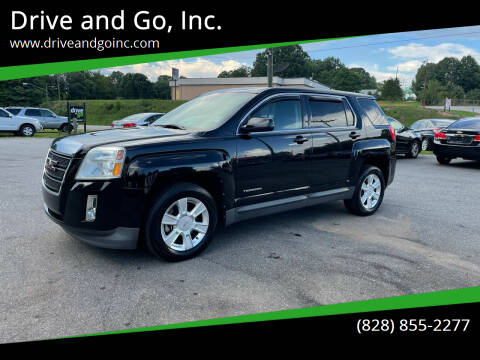 2012 GMC Terrain for sale at Drive and Go, Inc. in Hickory NC