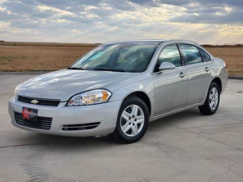 2008 Chevrolet Impala for sale at Chihuahua Auto Sales in Perryton TX