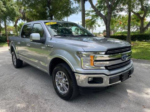 2020 Ford F-150 for sale at DELRAY AUTO MALL in Delray Beach FL