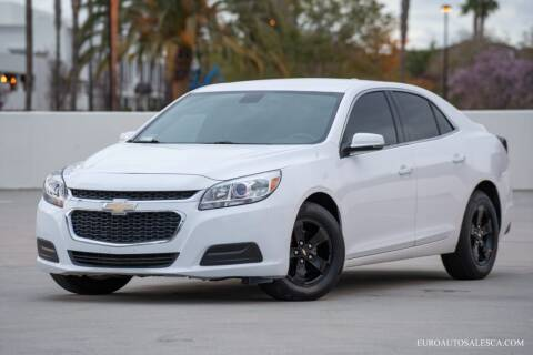 2016 Chevrolet Malibu Limited for sale at Euro Auto Sales in Santa Clara CA