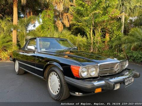 1983 Mercedes-Benz 380-Class for sale at Autohaus of Naples in Naples FL