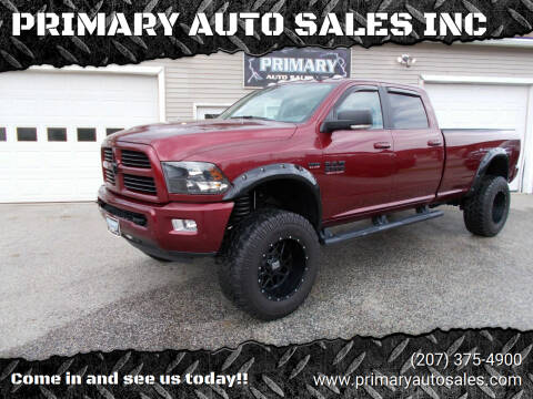 2017 RAM Ram Pickup 2500 for sale at PRIMARY AUTO SALES INC in Sabattus ME
