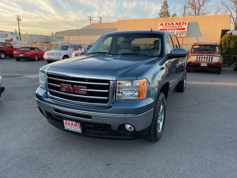 2013 GMC Sierra 1500 for sale at Adams Auto Sales in Sacramento CA