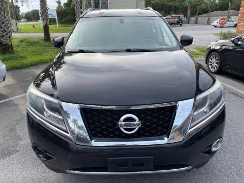 2015 Nissan Pathfinder for sale at Gulf Financial Solutions Inc DBA GFS Autos in Panama City Beach FL
