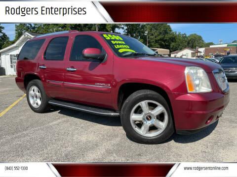 2007 GMC Yukon for sale at Rodgers Enterprises in North Charleston SC