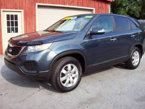 2012 Kia Sorento for sale at Clift Auto Sales in Annville PA