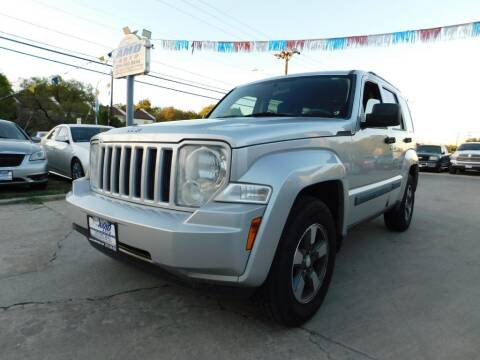 2008 Jeep Liberty for sale at AMD AUTO in San Antonio TX