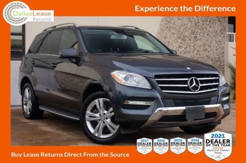 2014 Mercedes-Benz M-Class for sale at Dallas Auto Finance in Dallas TX
