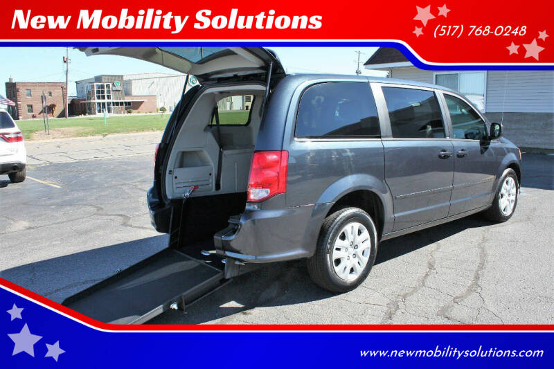 2014 Dodge Grand Caravan for sale at New Mobility Solutions in Jackson MI
