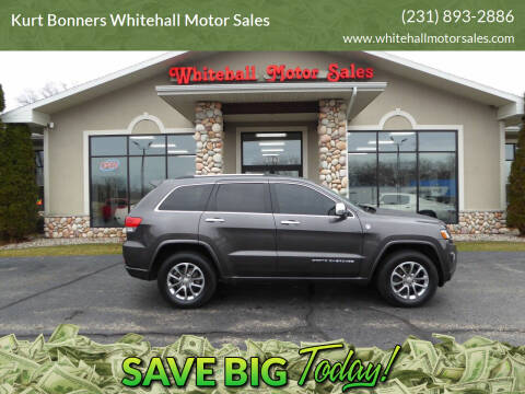 2015 Jeep Grand Cherokee for sale at Kurt Bonners Whitehall Motor Sales in Whitehall MI