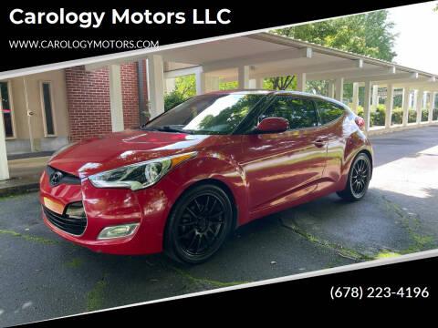 2013 Hyundai Veloster for sale at Carology Motors LLC in Marietta GA