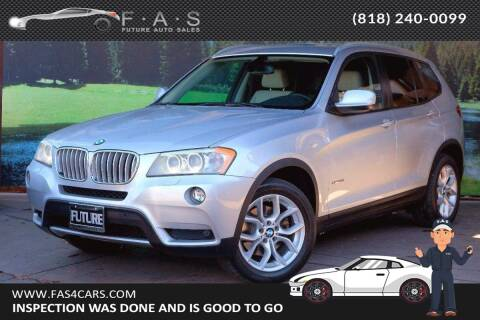 2011 BMW X3 for sale at Best Car Buy in Glendale CA