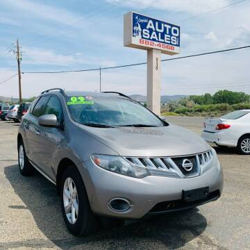 2009 Nissan Murano for sale at Capital Auto Sales in Carson City NV