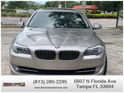 2013 BMW 5 Series for sale at Drive Now Motors USA in Tampa FL