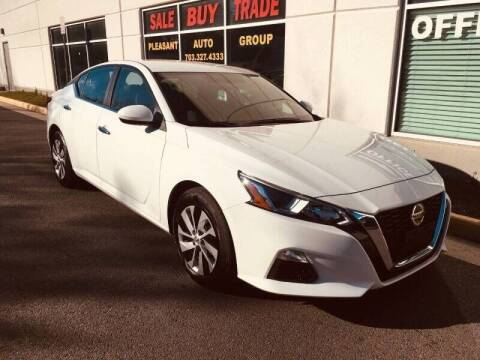 2020 Nissan Altima for sale at Pleasant Auto Group in Chantilly VA