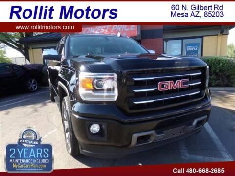 2015 GMC Sierra 1500 for sale at Rollit Motors in Mesa AZ