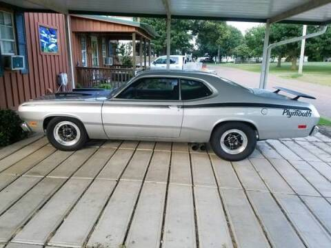 1971 Plymouth Duster for sale at Classic Car Deals in Cadillac MI